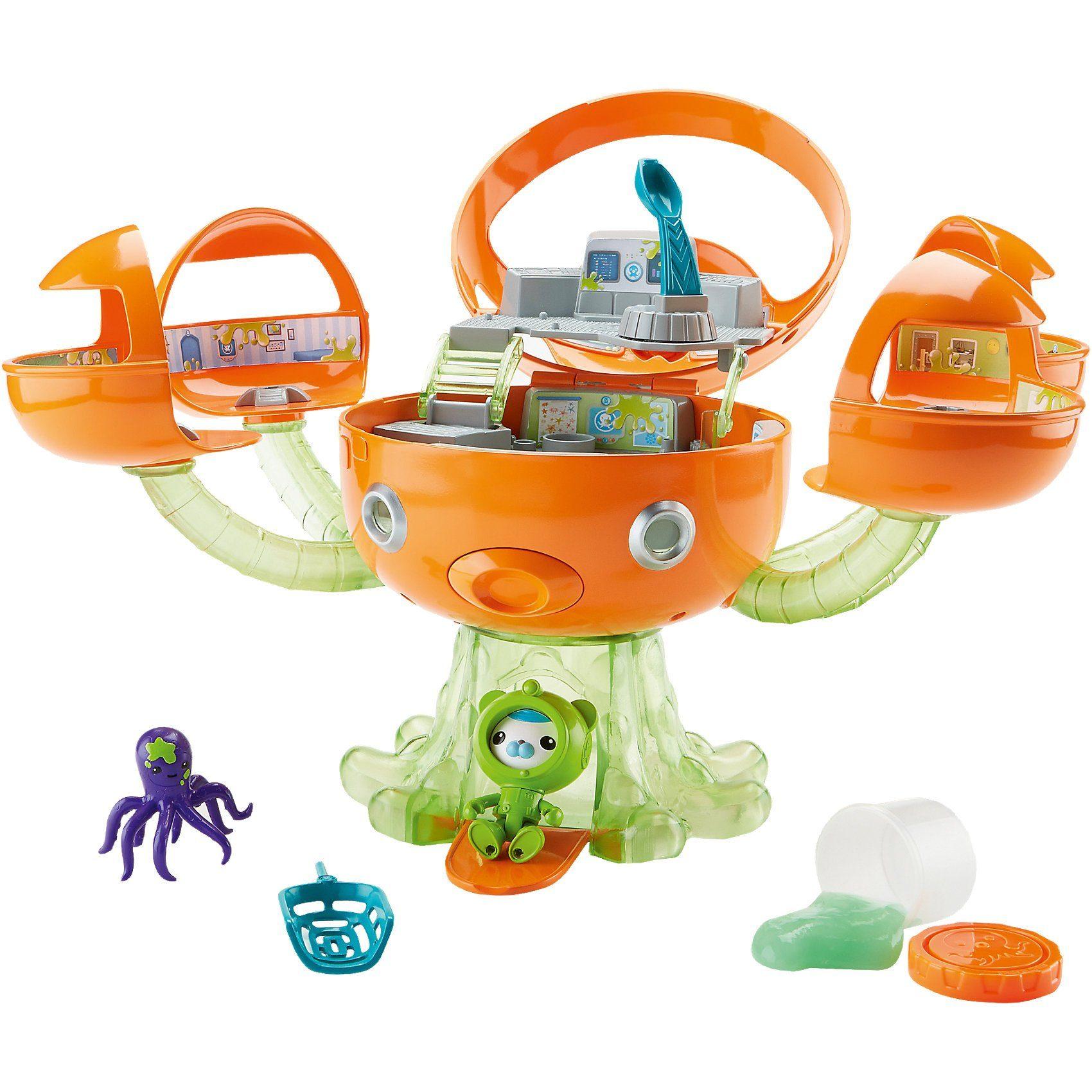 Mattel Die Oktonauten - Meeresschleim Oktopod Spielset