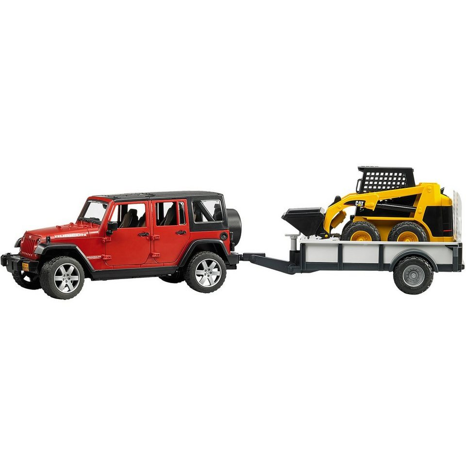2925 Jeep Wrangler Unlimited Rubicon mit CAT 1:16