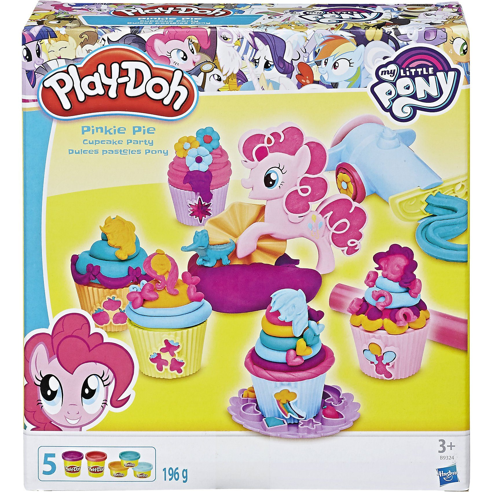 Hasbro Play-Doh My Little Pony Pinkie Pies Cupcake Party