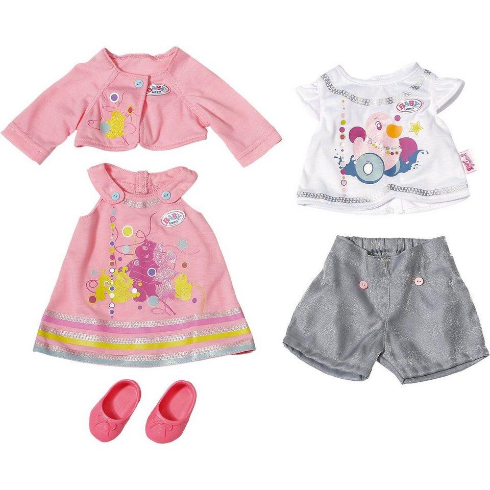 zapf creation baby born puppenkleidung geschenk set 43 cm online kaufen otto. Black Bedroom Furniture Sets. Home Design Ideas