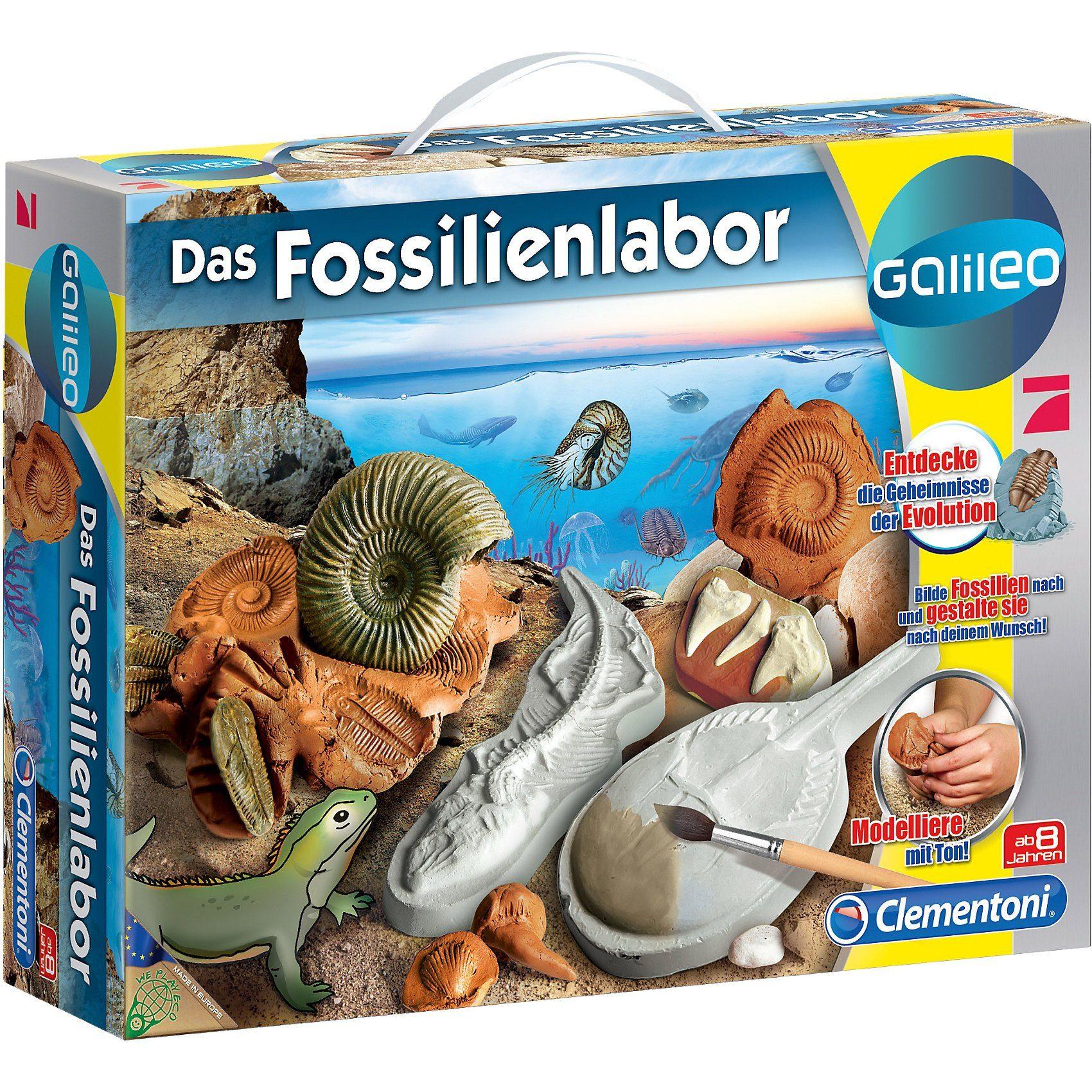 Clementoni® Galileo - Das Fossilienlabor