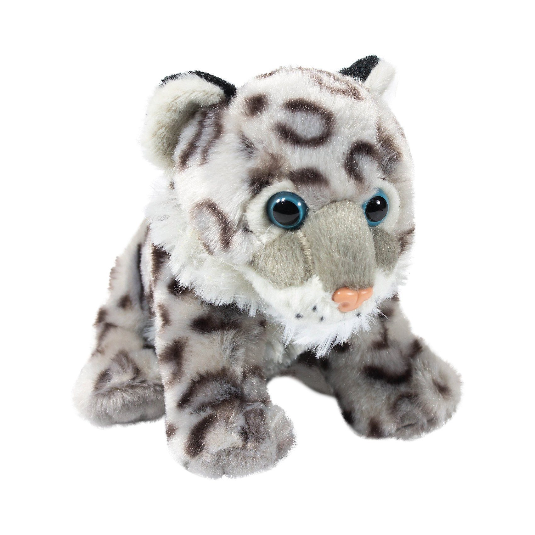 WILD REPUBLIC  Cuddlekins Mini Baby Schnee Leopard 20cm