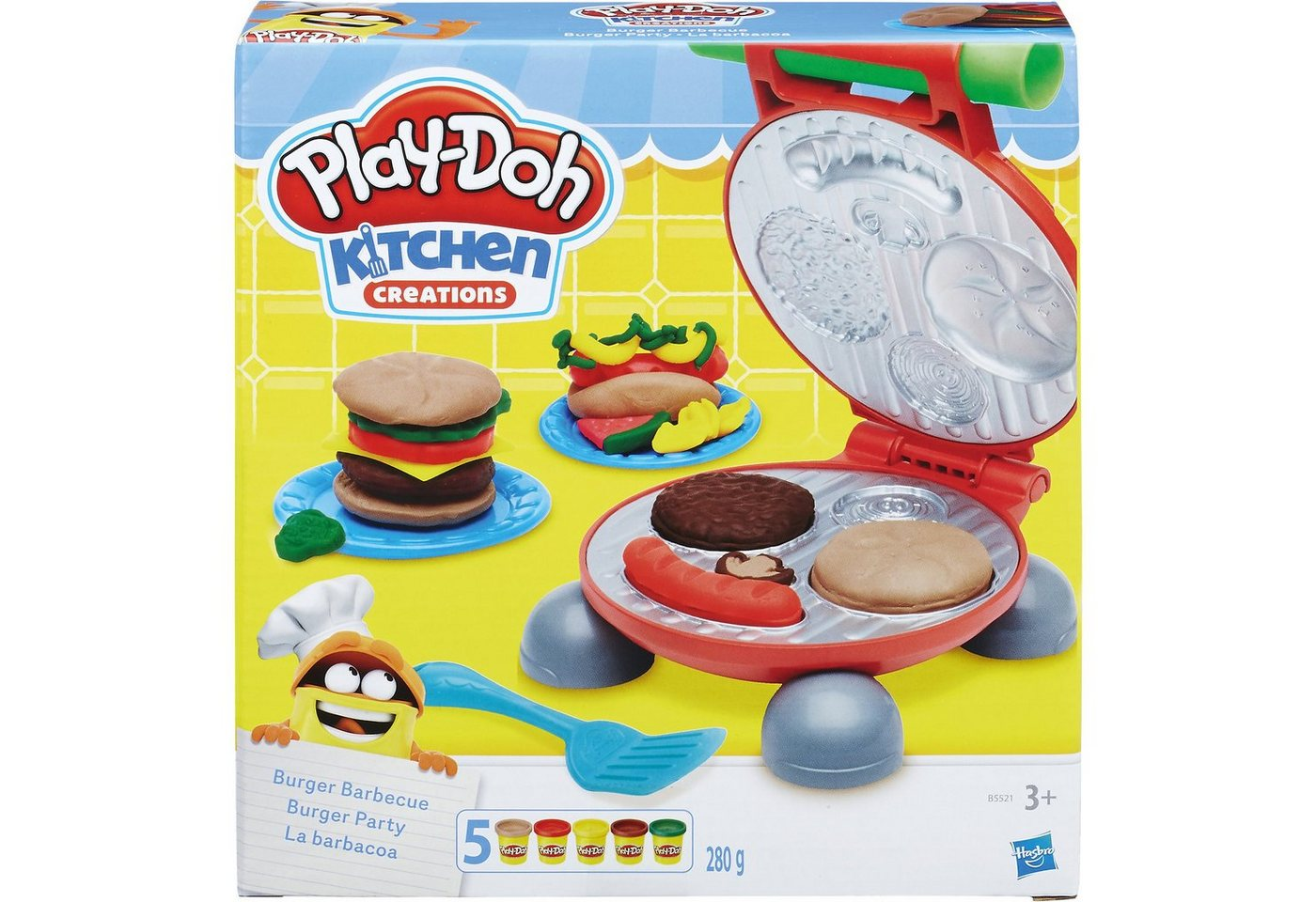 Hasbro Play-Doh Kitchen Burger Party - Preisvergleich