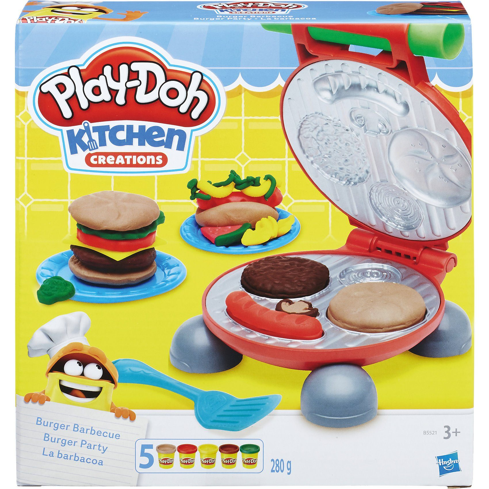 Hasbro Play-Doh Kitchen Burger Party
