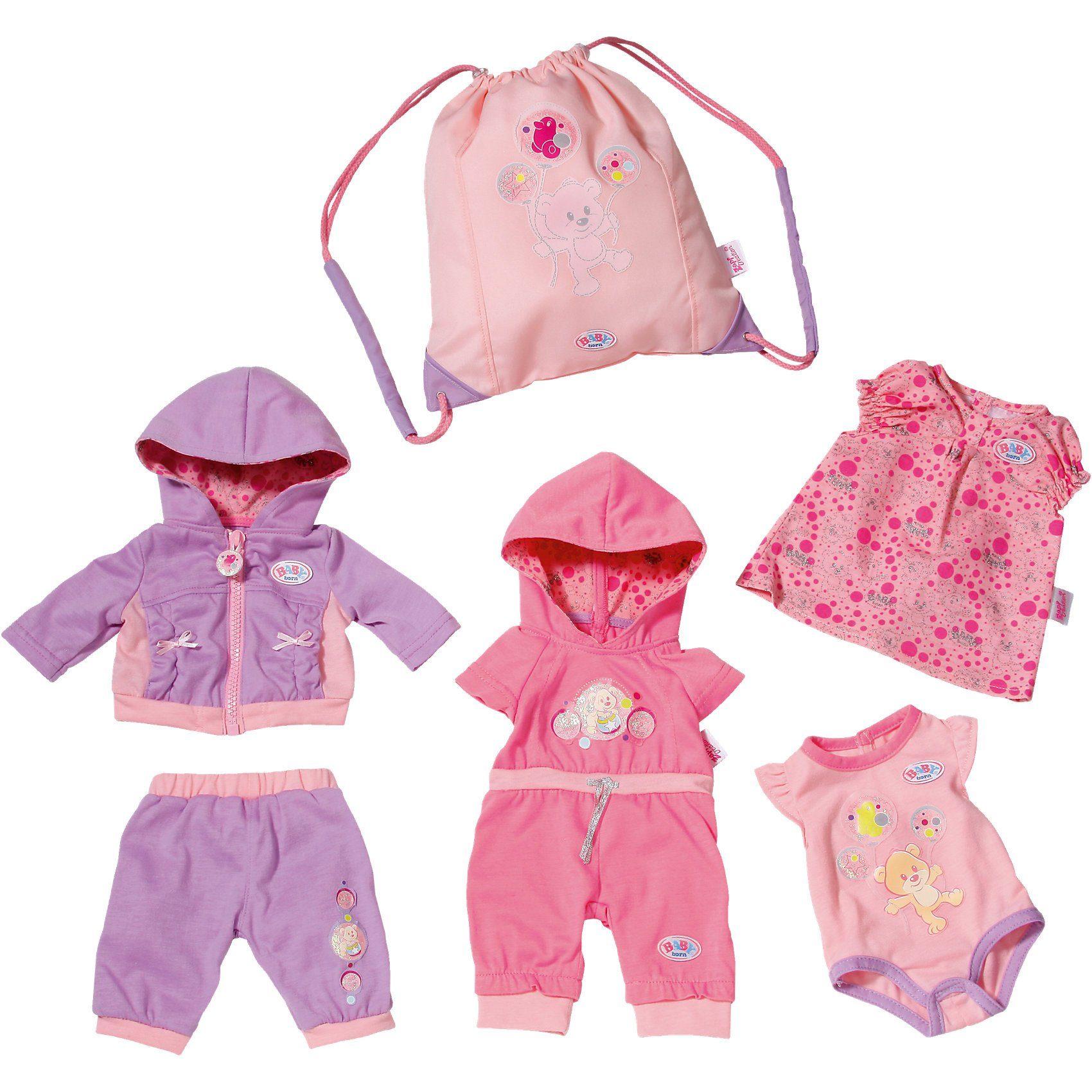 Puppen & Zubehör Babypuppen & Zubehör Puppenkleidung Baby Born 43 cm