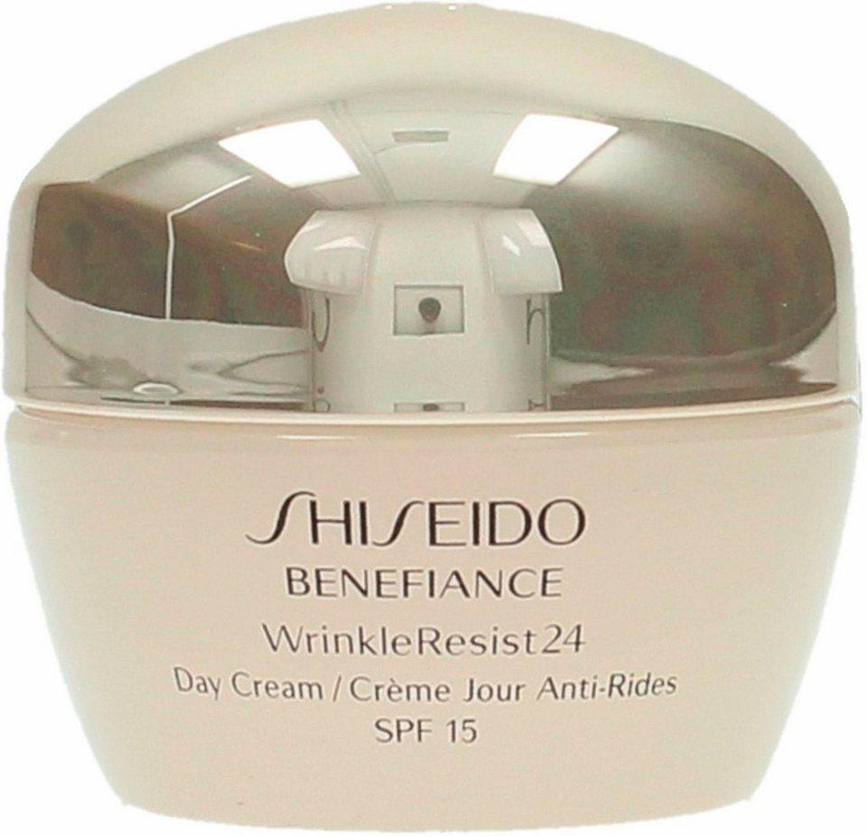 shiseido benefiance wrinkleresist 24 day cream gesichtscreme online kaufen otto. Black Bedroom Furniture Sets. Home Design Ideas