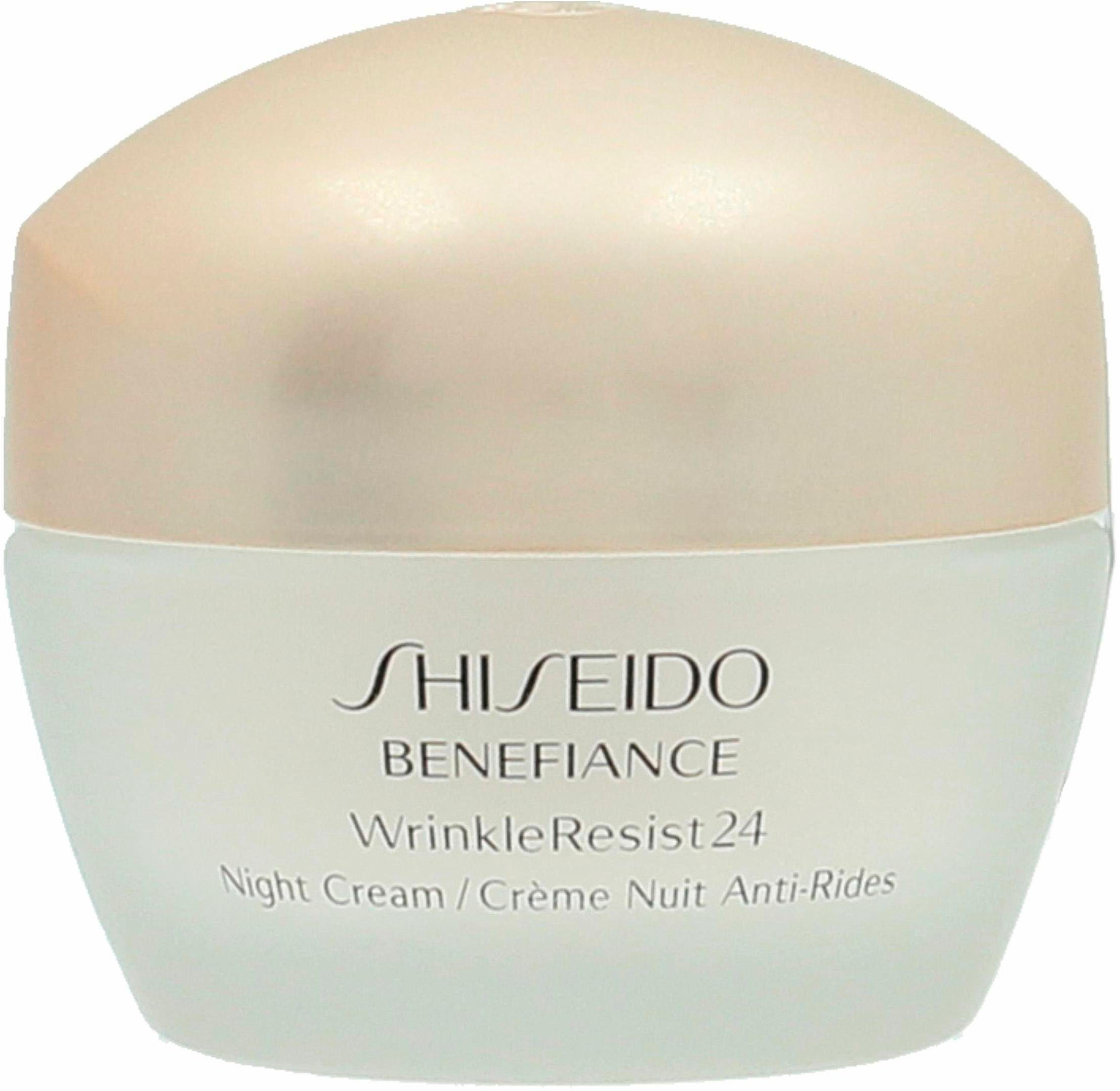 Shiseido, »Benefiance WrinkleResist 24 Night Cream«, Nachtcreme