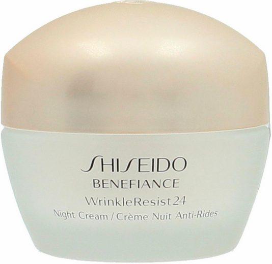 SHISEIDO Nachtcreme »Benefiance WrinkleResist 24 Night Cream«