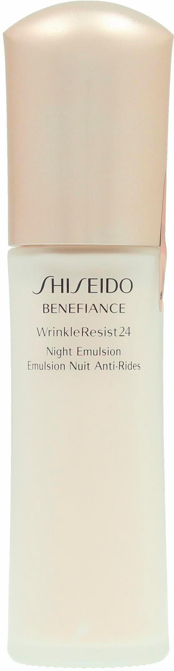 Shiseido, »Benefiance WrinkleResist24 Night Emulsion«, Nachtpflege