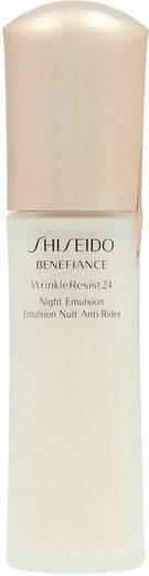 SHISEIDO Nachtcreme »Benefiance WrinkleResist24 Night Emulsion«