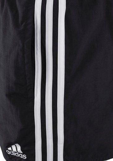 adidas Performance Badeshorts mit klassischer 3-Streifen-Optik