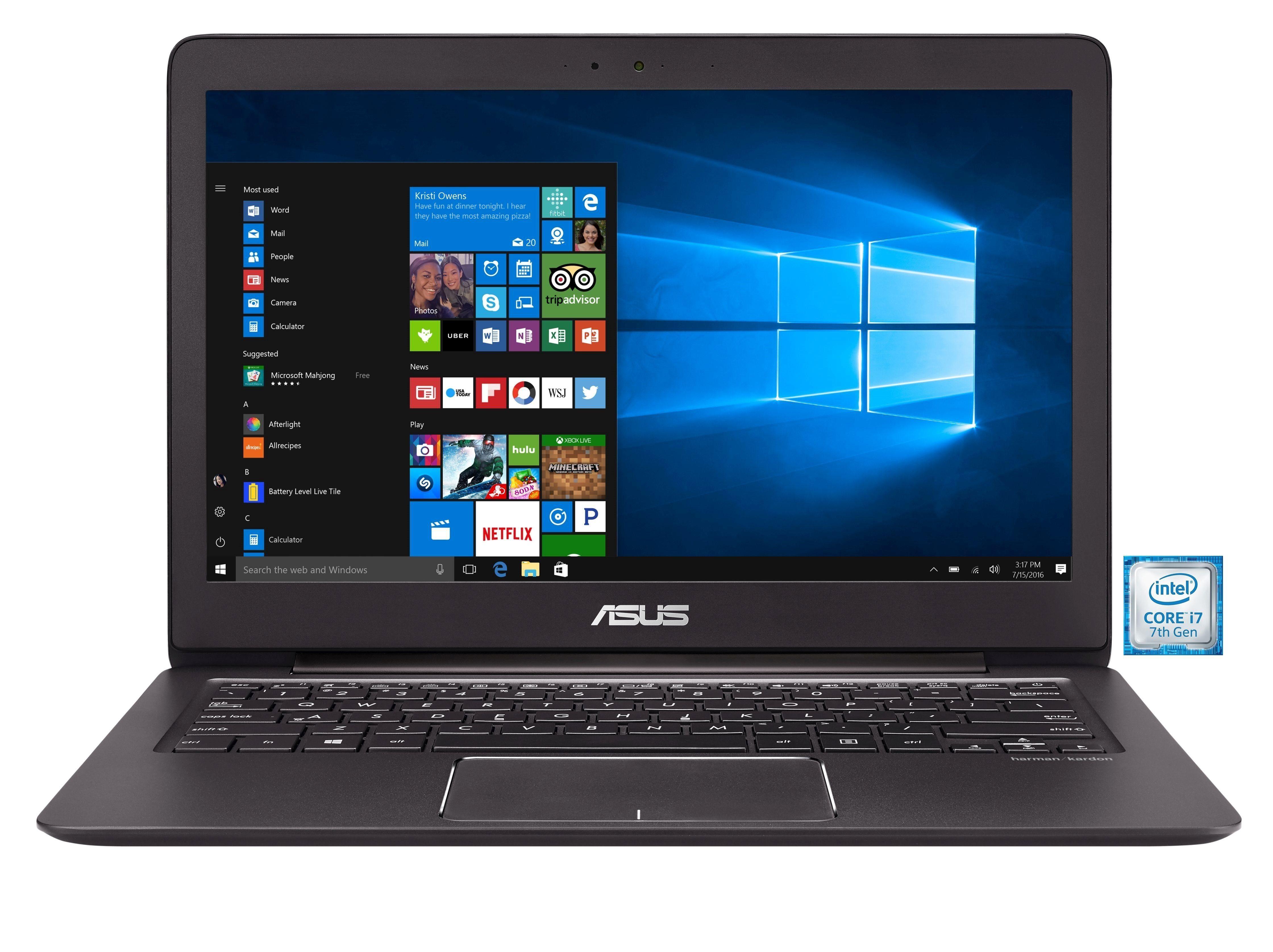"""ASUS Zenbook UX330UA-FC080T »Intel Core i7, 33,7cm (13,3""""), 512 GB SSD, 16 GB«"""