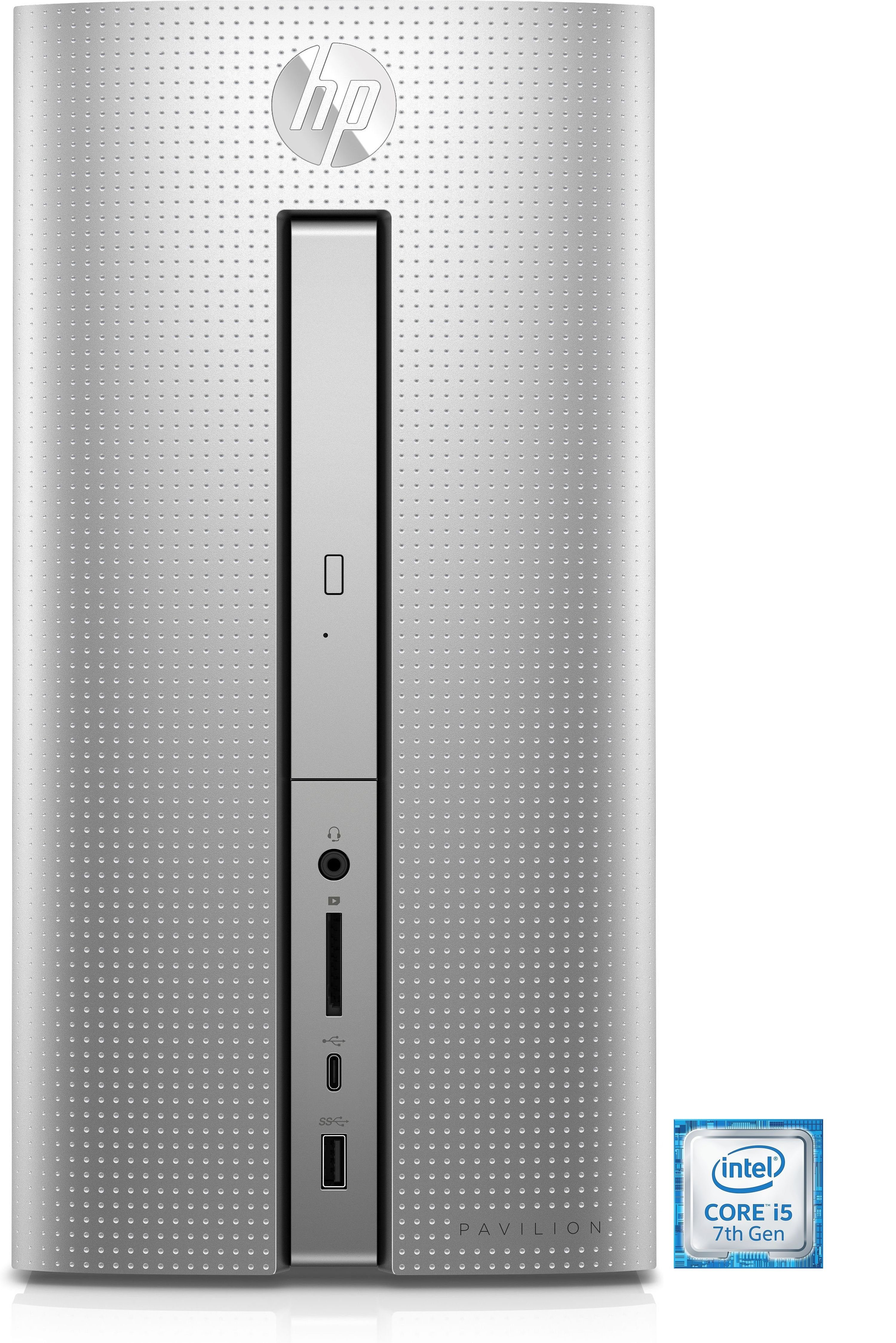 HP Pavilion Desktop PC 570-p070ng »Intel Core i5, RX 460, 128GB SSD + 1 TB HDD, 8 GB«