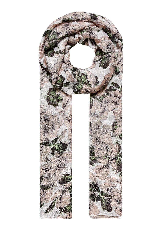 HALLHUBER Schal mit Floralmuster
