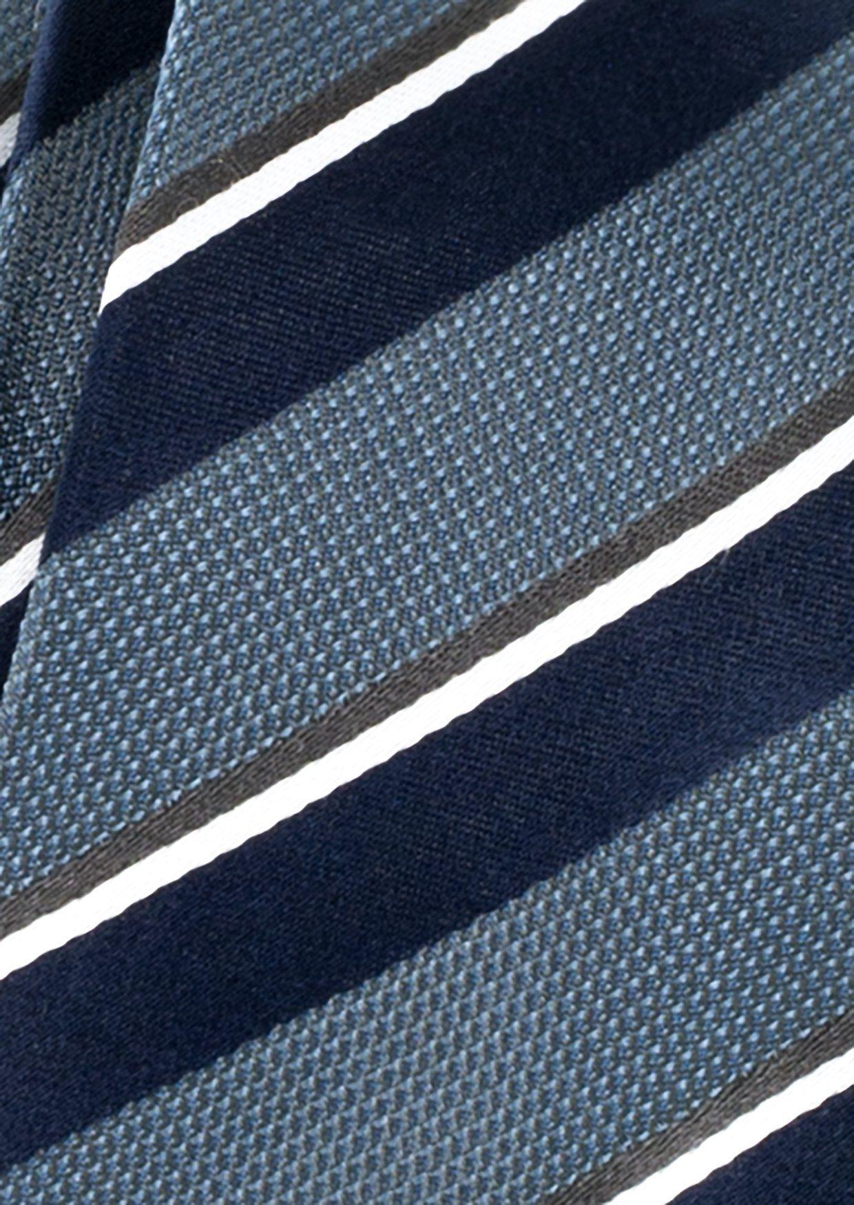 ETERNA Krawatte »breit gestreift«
