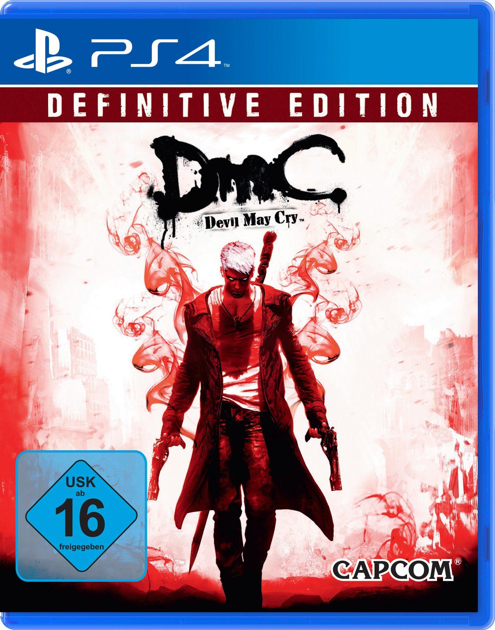 Capcom Software Pyramide - Playstation 4 Spiel »DMC Devil May Cry Definitive Edition«