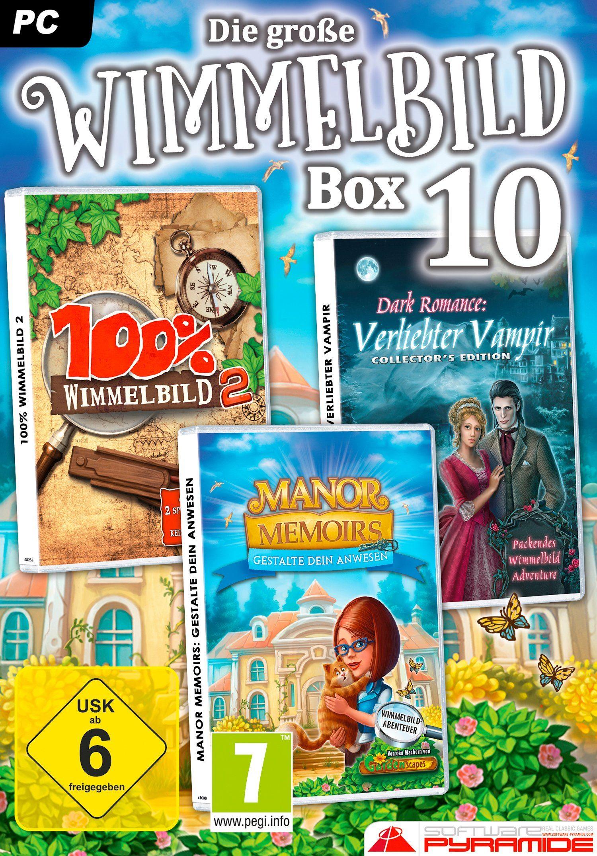Astragon Software Pyramide - PC Spiel »Die große Wimmelbild Box 10«