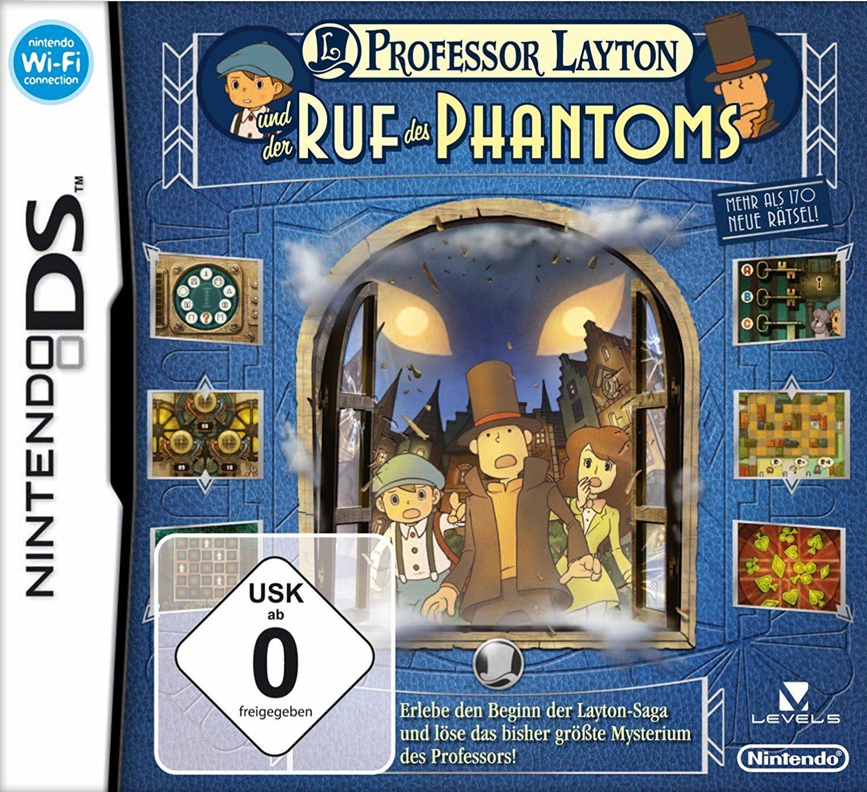 Nintendo Nintendo DS Spiel »Professor Layton und der Ruf des Phantoms«