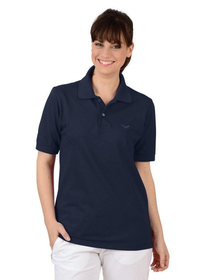 TRIGEMA Polo-Shirt DELUXE Piqué in navy