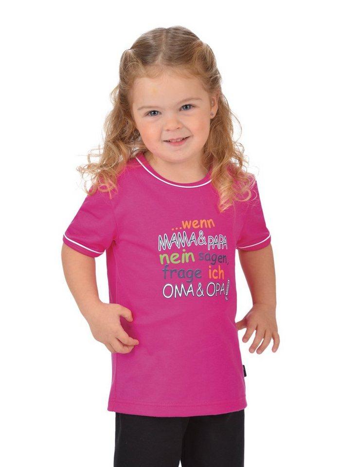 TRIGEMA Shirt Oma und Opa in hibiskus