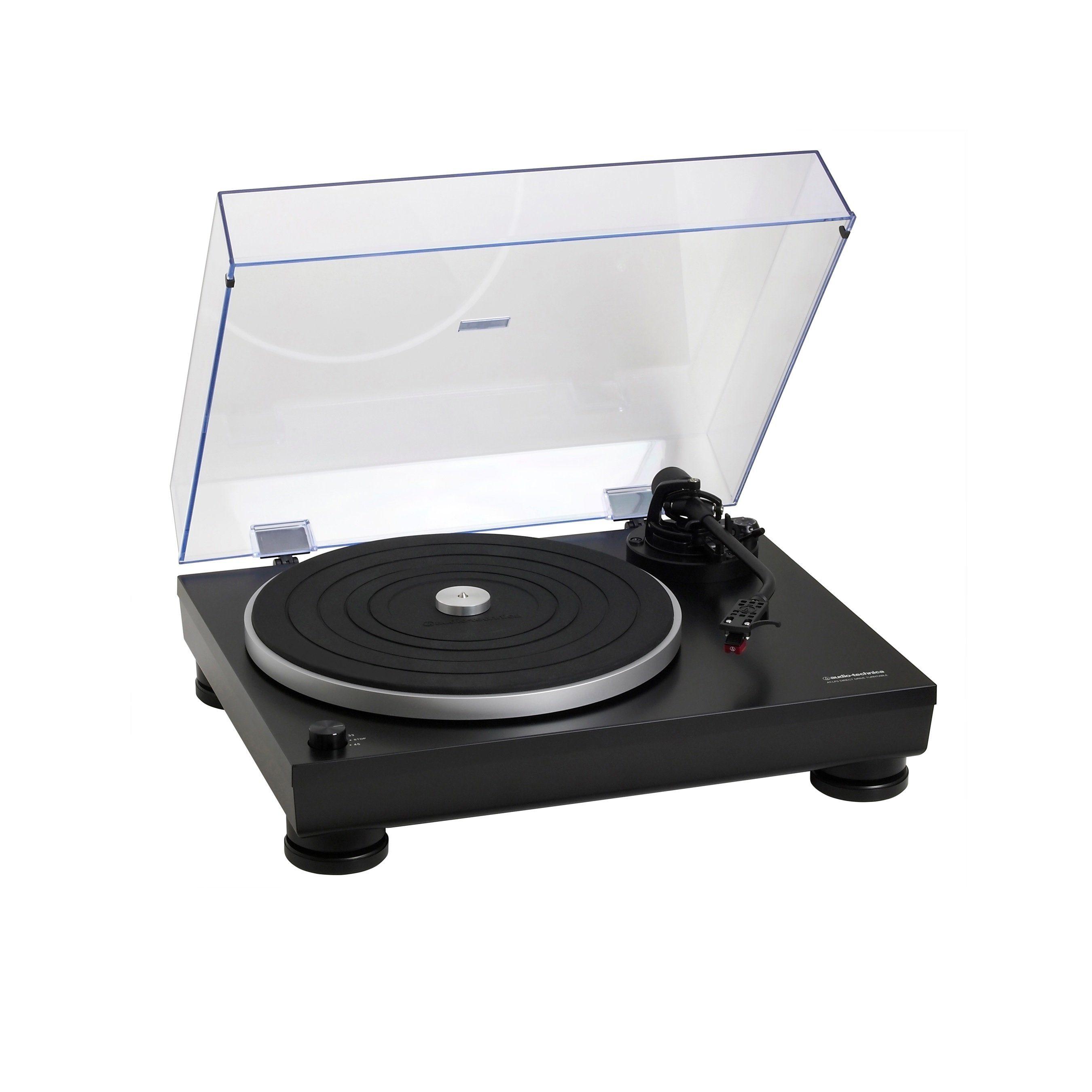 Audio-Technica Hifi-Plattenspieler mit Direktantrieb & USB »AT-LP5«