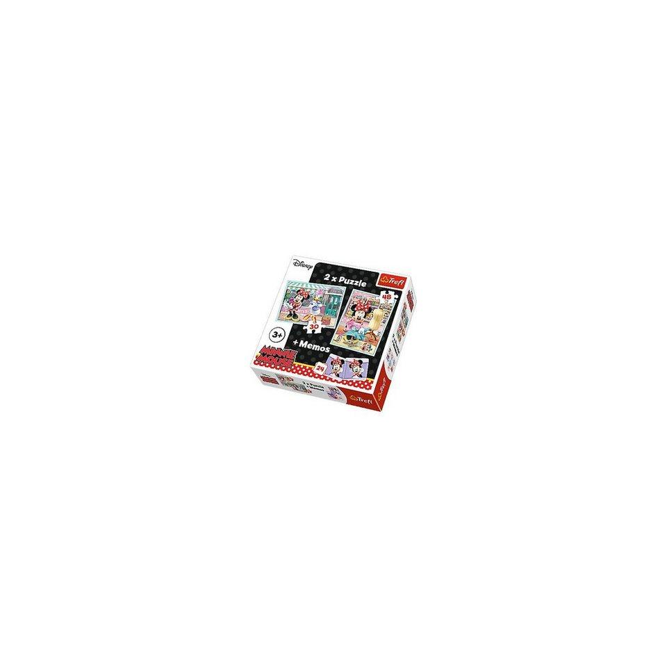 Trefl 2 Puzzles + Memo - Minnie Mouse kaufen