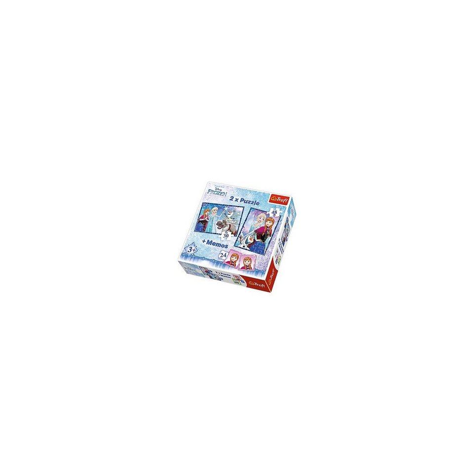 Trefl 2 Puzzles + Memo - Die Eiskönigin kaufen