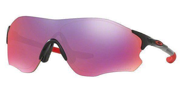 Oakley Herren Sonnenbrille »EVZERO PATH OO9308«, schwarz, 930816 - schwarz/lila