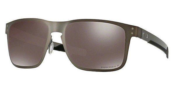 Oakley Herren Sonnenbrille »HOLBROOK METAL OO4123«, schwarz, 412313 - schwarz/gold
