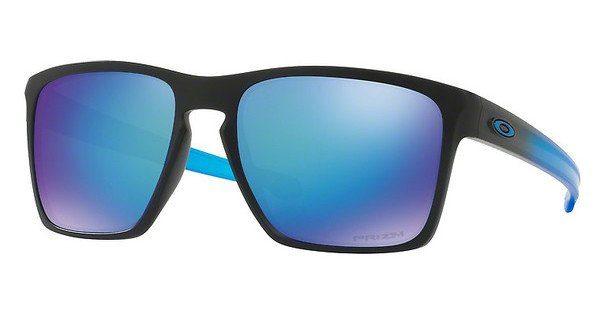 Oakley Herren Sonnenbrille »SLIVER XL OO9341«, grau, 934118 - grau/blau