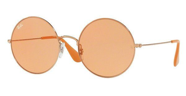 RAY BAN RAY-BAN Damen Sonnenbrille »Ja-jo RB3592«, rosa, 9035C7 - rosa/grün