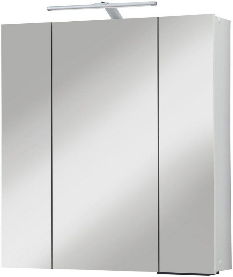 kesper spiegelschrank breite 65 cm mit led beleuchtung online kaufen otto. Black Bedroom Furniture Sets. Home Design Ideas