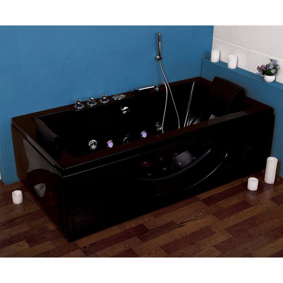whirlpoolwanne vigo m b t h in cm 180 90 55 otto. Black Bedroom Furniture Sets. Home Design Ideas