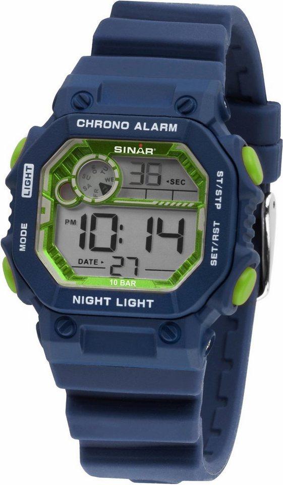 SINAR Chronograph »XE-55-2« | Uhren > Chronographen | Blau | SINAR