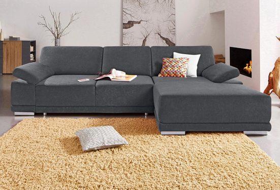 sit&more Ecksofa, mit XL-Recamiere, wahlweise mit Bettfunktion