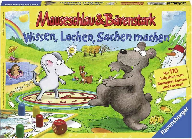 Ravensburger Spiel, »Mauseschlau & Bärenstark Wissen, Lachen, Sachen machen«, Made in Europe, FSC® - schützt Wald - weltweit