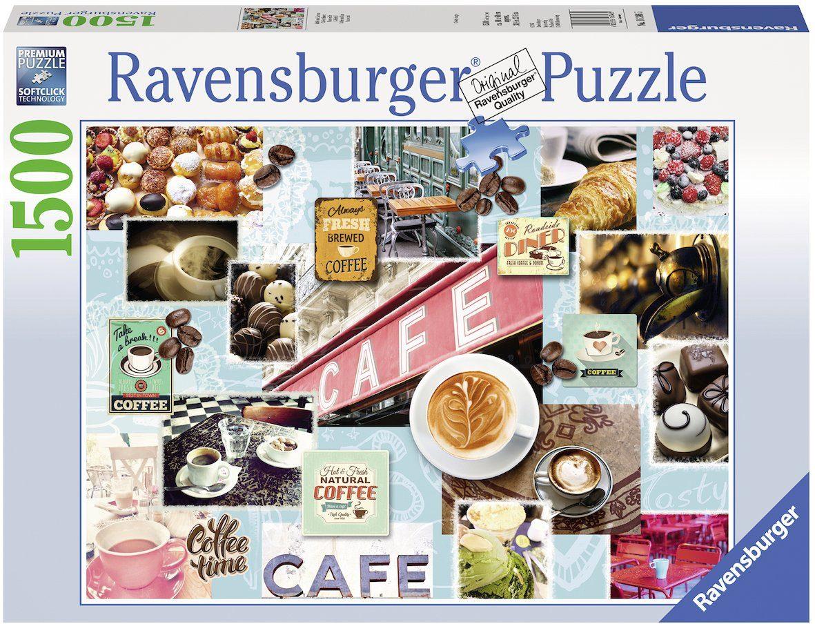 Ravensburger Puzzle, 1500 Teile, »Kaffee und Kuchen«
