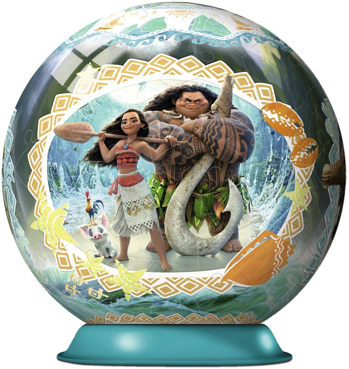 Ravensburger 3D Puzzleball, 108 Teile, »Disney Vaiana«