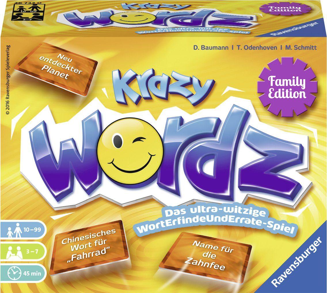 Ravensburger Gesellschaftsspiel, »Krazy WoRDZ Family«