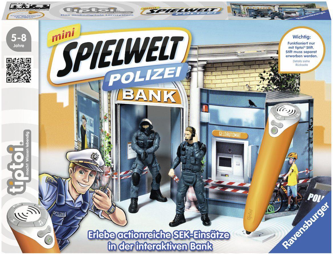 Ravensburger Set, »tiptoi® mini Spielwelt Polizei: SEK-Einsatz«