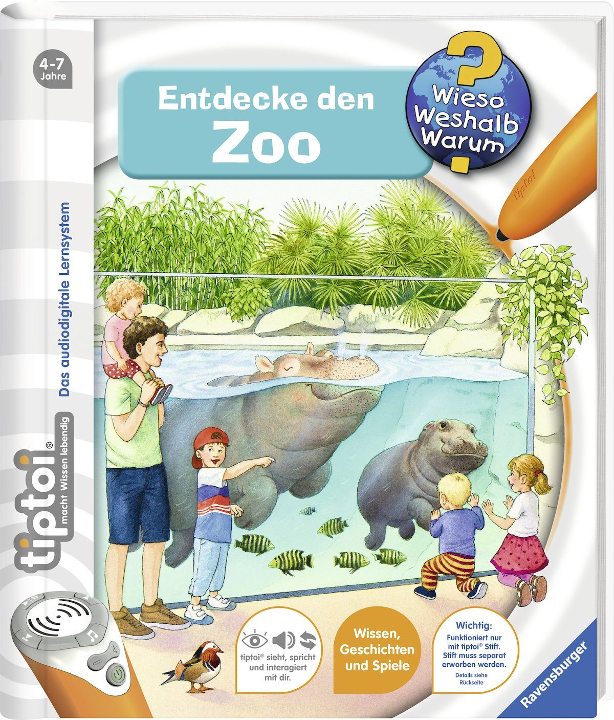 Ravensburger Buch, »tiptoi® WWW Entdecke den Zoo«