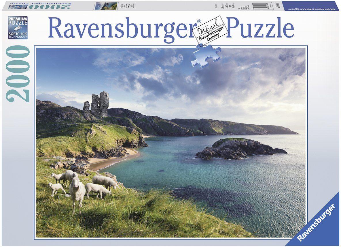 Ravensburger Puzzle, 2000 Teile, »Die grüne Insel«