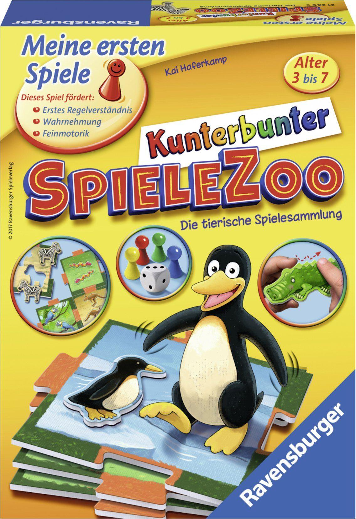 Ravensburger Kinderspiel, »Kunterbunter Spielezoo«