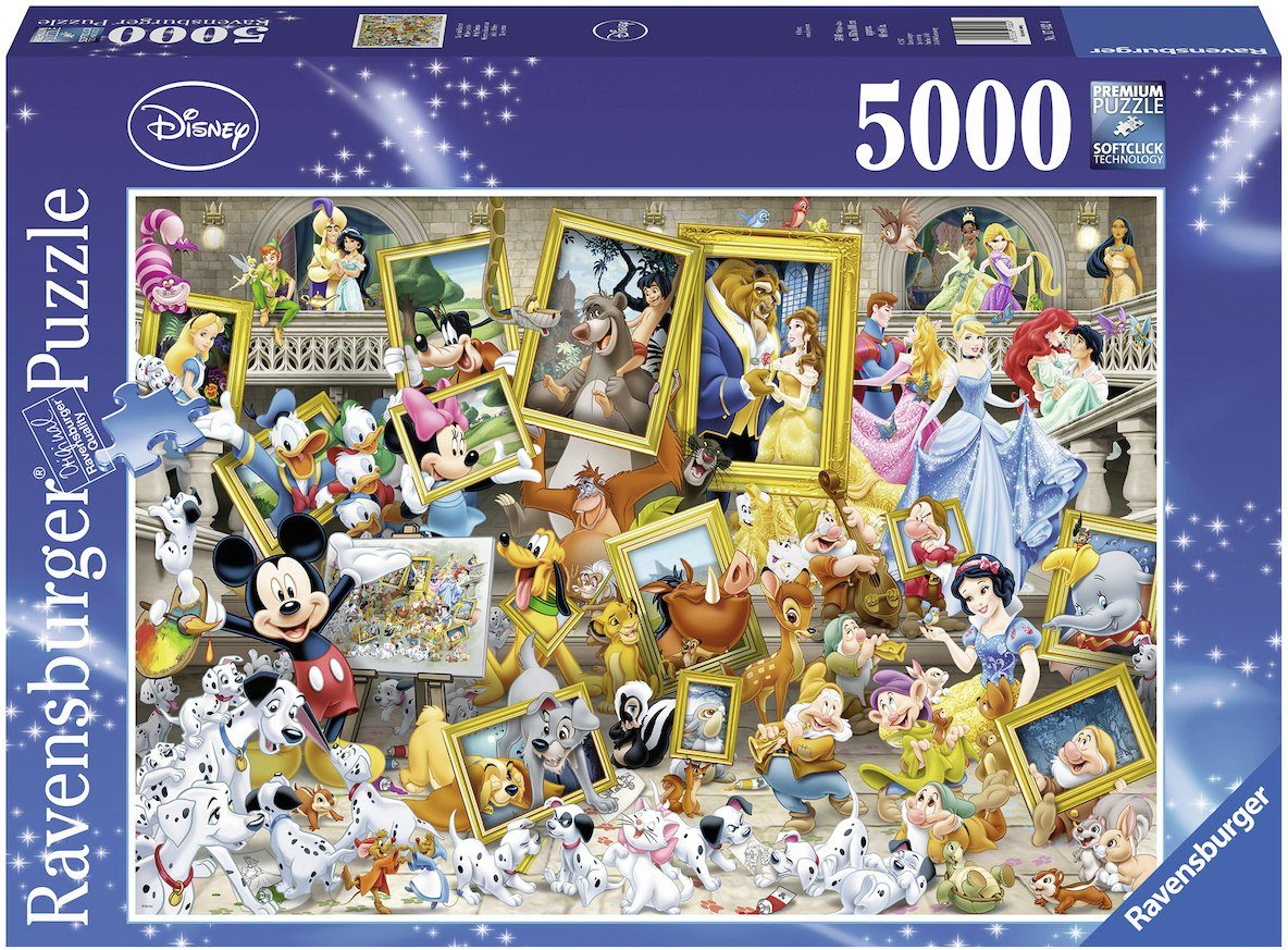 Ravensburger Puzzle, 5000 Teile, »Disney Micky als Künstler«