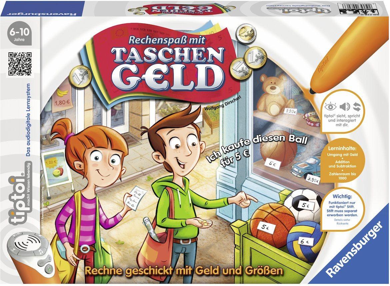 Ravensburger Lernspiel, »tiptoi® Rechenspaß mit Taschengeld«