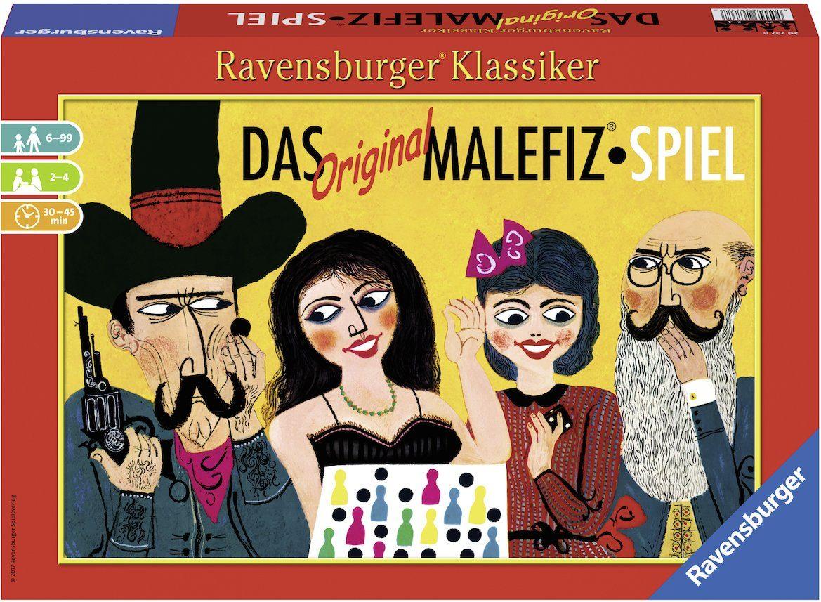 Ravensburger Gesellschaftsspiel, »Das Original Malefiz®-Spiel«