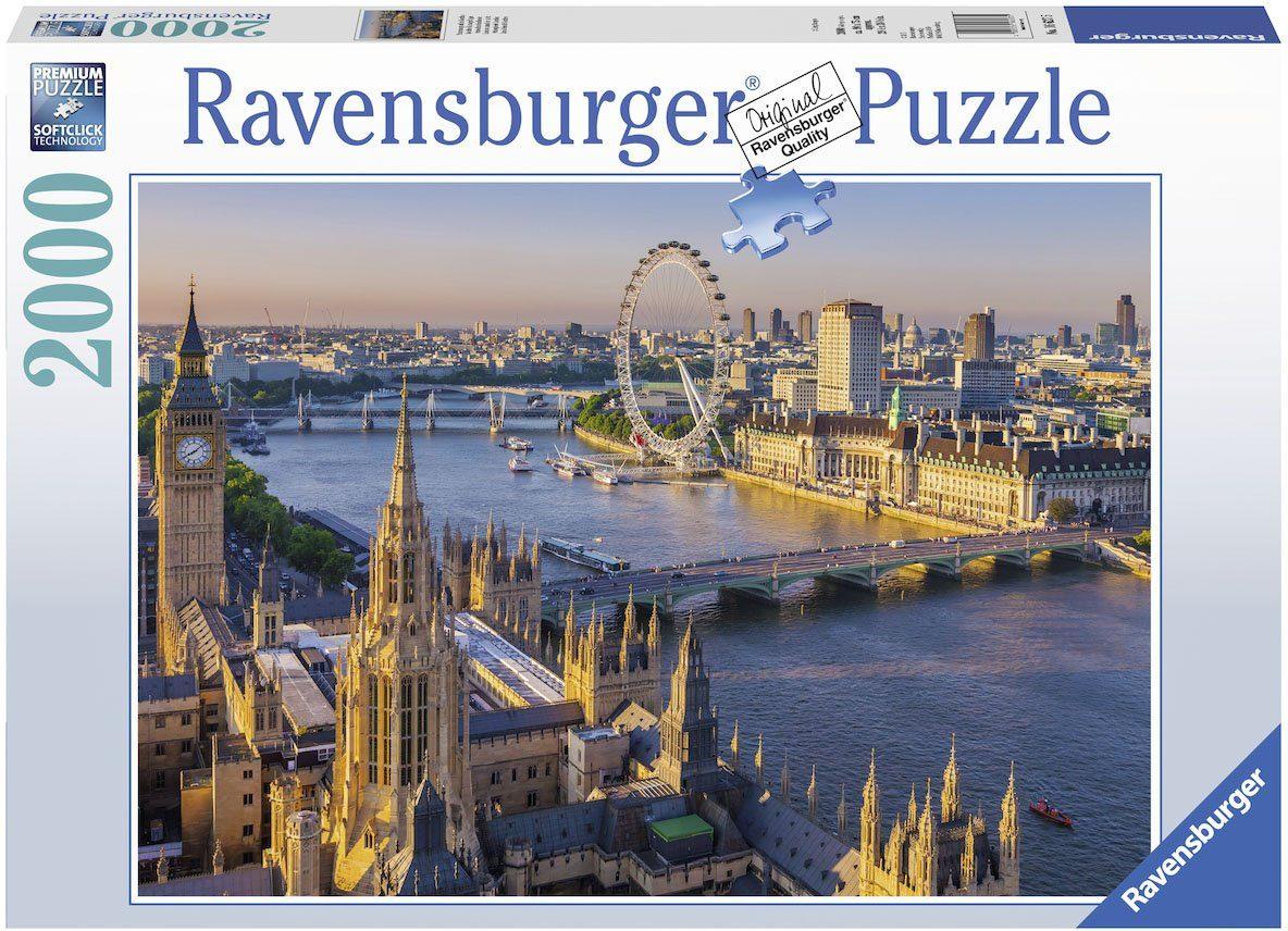 Ravensburger Puzzle, 2000 Teile, »Stimmungsvolles London«