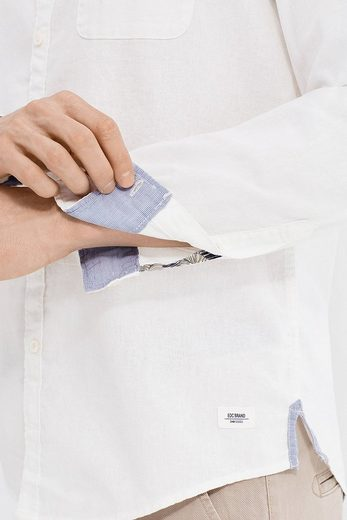 EDC BY ESPRIT Hemd aus Baumwoll-Chambray