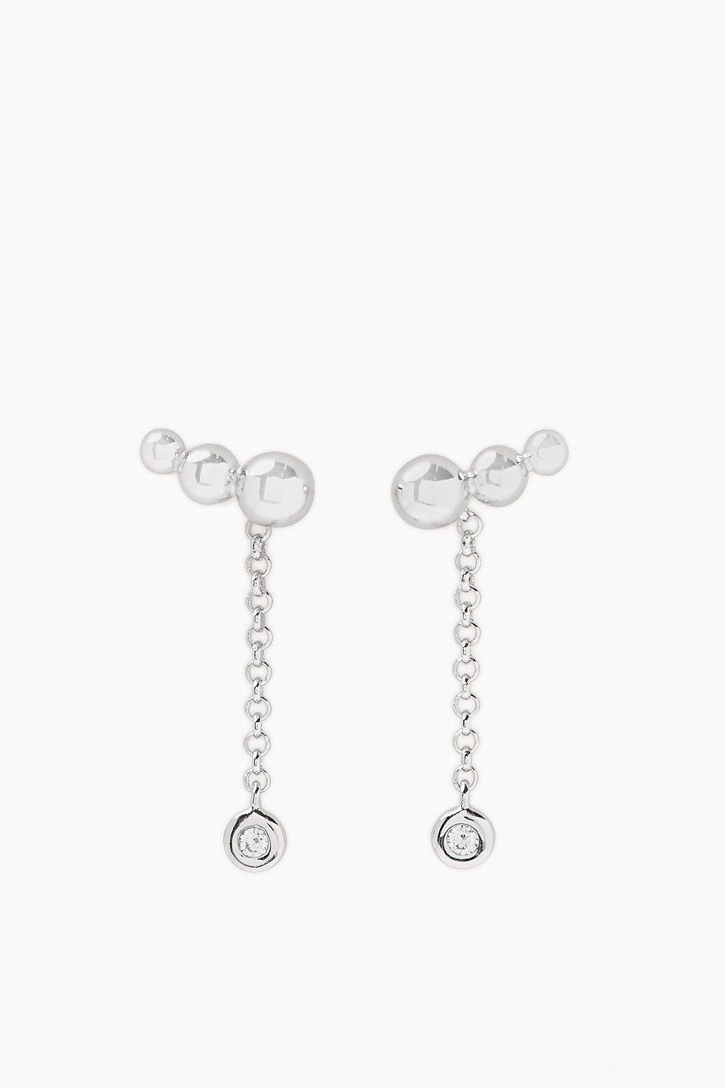ESPRIT CASUAL 2-in-1 Ohrringe mit Anhänger aus Silber