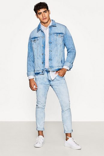 Edc By Esprit Shirt In Cotton-chambray